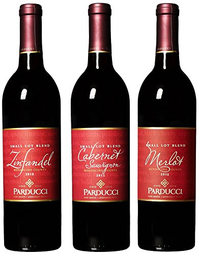 Parducci Wine Cellars Classic Reds Ii Mixed Pack, 3 X 750 Ml