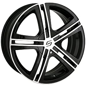 Sacchi S62 262 Black Wheel with Machined Face (16x7