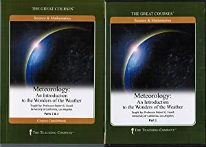 The Great Courses. Meteorology: An Introduction to the Wonders of the Weather