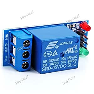 1 Channel 5V Low Level Trigger Relay Module Extension Board for Arduino ECT-212865