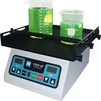 PRO Scientific PRO-576500-00 VSOS-4P Programmable Digital Orbital Shaker, 220V, 20 to 300 rpm, 110lbs Load Rating