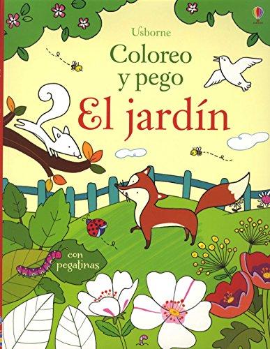 El Jardín. Coloreo Y Pego