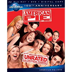 American Pie [Blu-ray + DVD + Digital Copy] (Universal's 100th Anniversary)