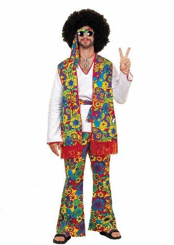 [Hippie Dippie Man, Adult] (Hippie Dippie Adult Mens Costumes)