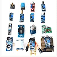 Gikfun 16 In 1 Modules Sensor Kit Learning Package For Arduino UNO R3 Mega2560 Nano Raspberry Pi EK1696