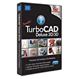 TurboCAD Deluxe 21 2D Design & 3D Modeling CAD Design software