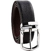 B&W Men's Belt (Black & Brown , Size: 42)