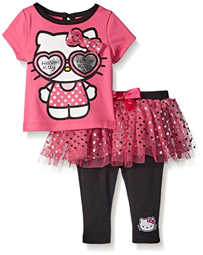 Hello-Kitty-Baby-Girls-2pc-Tee-and-Skegging-Set
