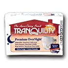 Tranquility 2117 Premium OverNight Pull On diapers XL 14/Bag