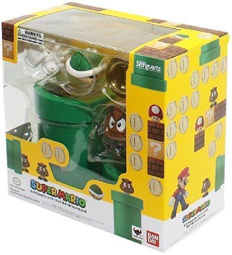 Bandai Tamashii Nations S.H. Figuarts Super Mario Diorama Playset B by Bluefin Distribution Toys by Bluefin Distribution Toys [parallel import goods]