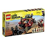Lego The Lone Ranger Stagecoach Escape - 79108
