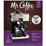 2 X Mr. Coffee ECM160 4-Cup Steam Espresso Machine, Black
