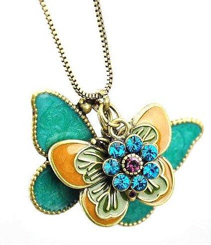 Buyinhouse Butterfly Necklace Pendant