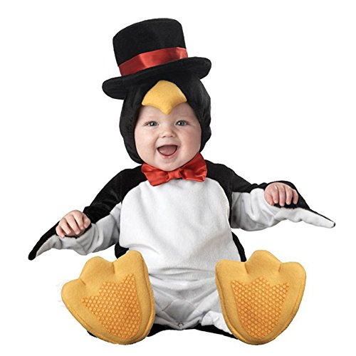 Cute Infant Toddler Penguin Costume Baby Bodysuit Festival Clothing (Large(18-24 Months)) (Woody Halloween Costume 2t)