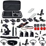 Kebo 37in1 Large Shockproof Carrying Bag Floating Grip Bike Handlebar Accessories Kit For Gopro Hero 1 2 3 3+...