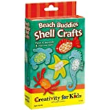 Faber-Castell Creativity For Kids Activity Kit: Beach Buddies Shell Crafts Mini