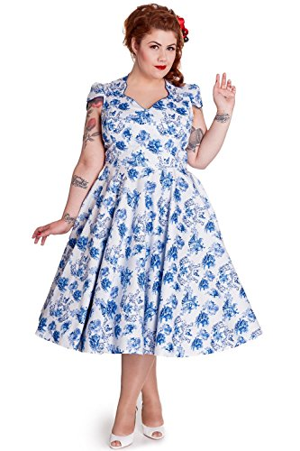 Babyhclub Victorian Rockabilly Antoinette Toile Jouy Party Dress