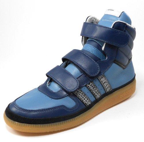 official photos 513a6 7732c Adidas G51027 Originals 4-Bit Retro High Sneaker, Power BlueSolar  BlueGum, 12.5 M US Review