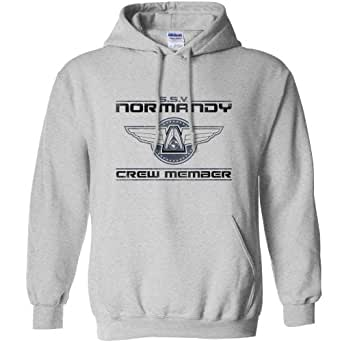 Refugeek Tees - Hommes Normandy Sweat à Capuche - Small - Sport Grey