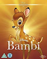 Bambi (1942) (Limited Edition Artwork Sleeve) [Blu-ray] [Region Free]