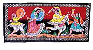 Famacart Cotton Wall Hanging Tapestry couple Wall décor Table Runner Tapestries