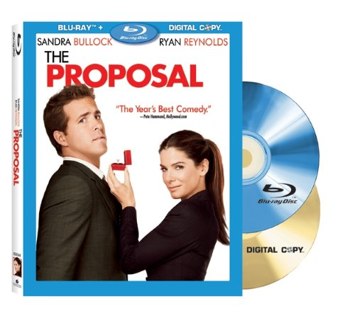 Cover art for  The Proposal (+ Digital Copy) [Blu-ray]