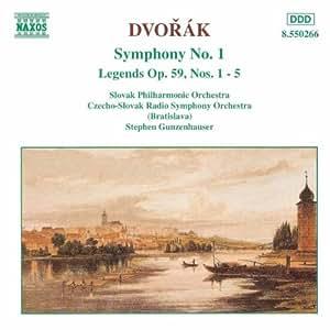 Dvorák: Symphony No. 1; Legends Nos. 1-5