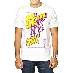 Puma Mens White Printed T-Shirt - 81576202-L