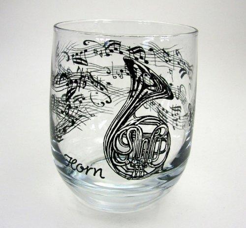 Glas-Horn-schnes-Geschenk-fr-Hornisten