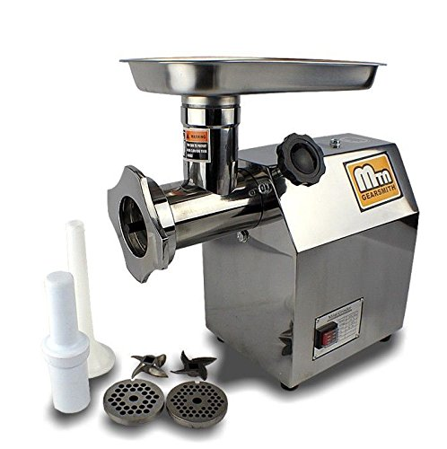 Brand New New Mtn Gearsmith Commercial Electric Meat Grinder Mincer Sausage Stuffer #12