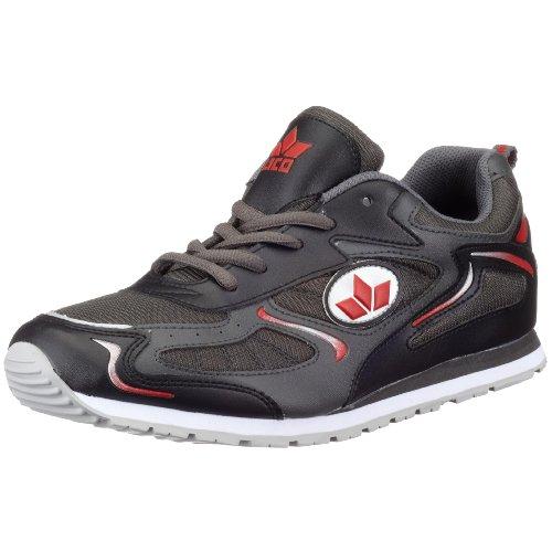 Lico Nelson, Sneaker uomo, Grigio (Grau (anthrazit/schwarz/rot)), 40