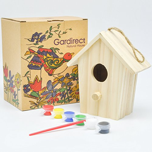 Gardirect design your own paint a small birdhouse home for Design your own small garden