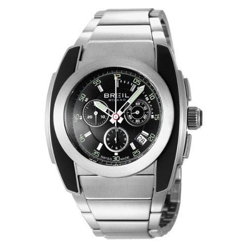 Breil BW0382 Mens Chronogragph Watch with Stainless Steel Bracelet