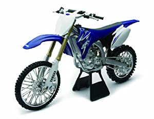 licensed replica diecast of the yamaha yz450f. Black Bedroom Furniture Sets. Home Design Ideas