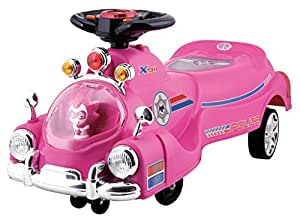 Toy House Toyhouse Police Swing Car Pink
