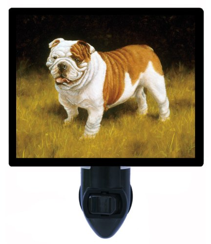 Dog Night Light - Bulldog - LED NIGHT LIGHT (Bulldog Night Light compare prices)