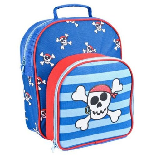 Skull & Crossbones 27927 Super Cool Picnic Backpack - Blue