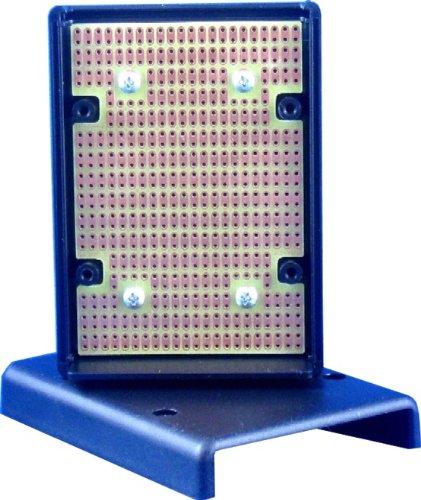 KIT-1593L Box+PCB, Black ABS Plastic Box, with PR1593L PCB, Box = 3.6 x 2.6 x 1.1 in