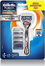 Gillette Fusion ProGlide Power FlexBall - Maquinilla de afeitar con tecnología FlexBall más 3 cuchillas