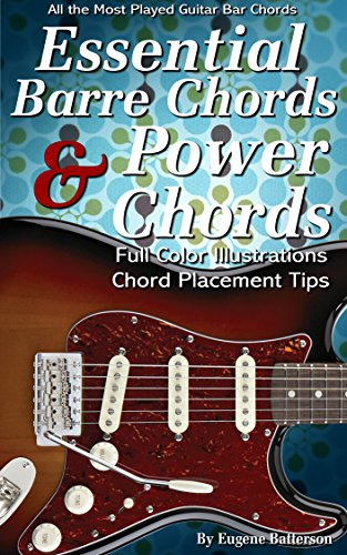 Essential Barre Chords & Power Chord Lessons: 35 Bar Chord & Power Chord Lessons (Power Chord Chart compare prices)