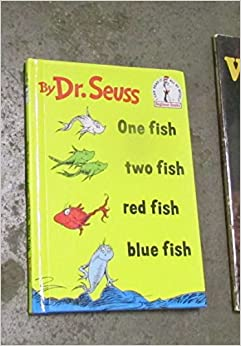 One fish two fish red fish blue fish dr seuss amazon for Red fish blue fish book
