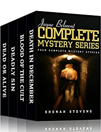 Jayne Belmont Mysteries - Complete Series: Four Separate Mystery Crime Stories by Shonah Stevens ebook deal