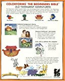 Colorforms The Beginner's Bible - Old Testament Adventures 1 - Adam & Eve, Noah, Jonah CD-ROM (Windows, Mac)