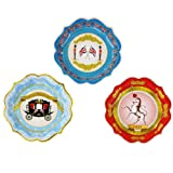 Pack of 12 British Jubilee Party 20cm Paper Plates by Lights4funby Lights4fun