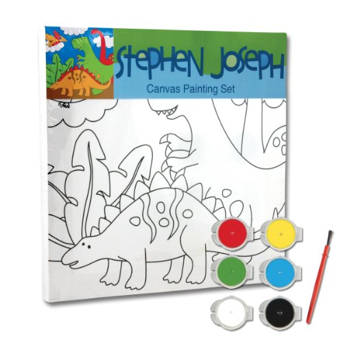 Stephen Joseph Dinosaur Craft Canvas Set - 1