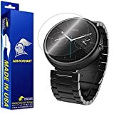 ArmorSuit MilitaryShield - Motorola Moto 360 Smartwatch Screen Protector Anti-Bubble Ultra HD - Extreme Clarity & Touch Responsive Shield with Lifetime Free Replacements - Retail Packaging