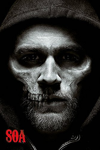 Sons of Anarchy Jax Skull Poster