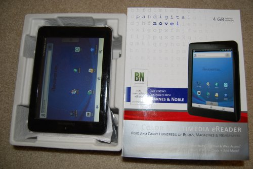 Pandigital Novel 7″ Touchscreen 4GB Wifi Color Multimedia eReader