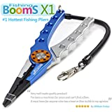 Booms Fishing Multi-function Pliers for Braided Line Cutter, Lure Remove and Outdoor Adventures