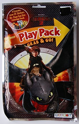 How to Train Your Dragon 2 Grab and Go Play Pack